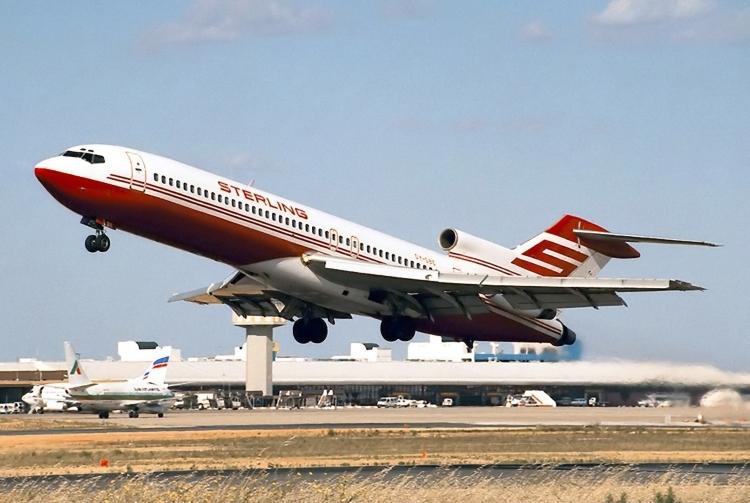 Sterling Airways Boeing 727-200ADV